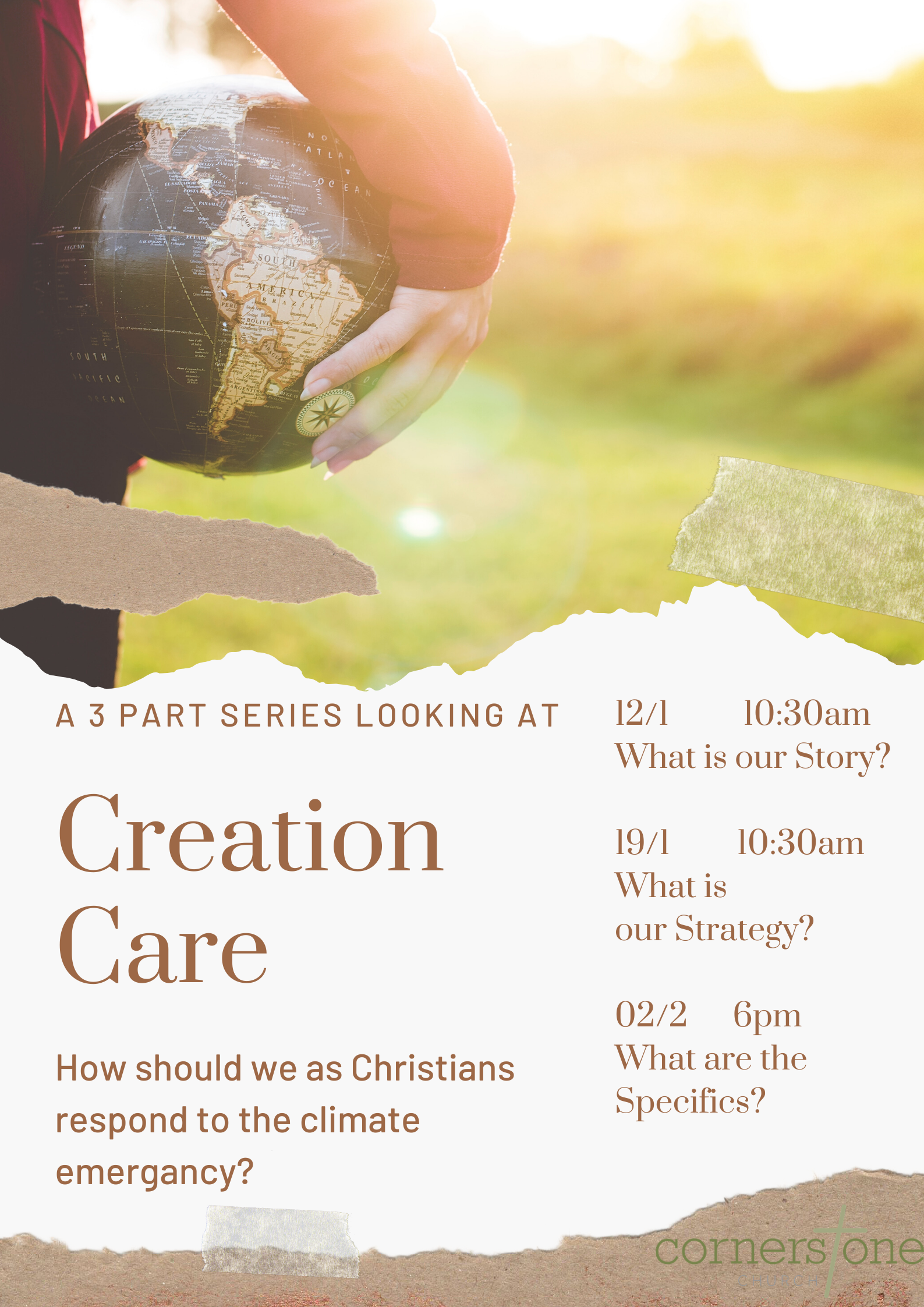 Creation Care – What is our strategy?